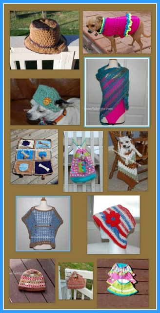 Posh Pooch Designs Dog Clothes Summer Fun Crochet Pattern Round Up