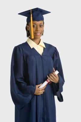 How to Make a Homemade Graduation Gown | Homemade, Graduation ...
