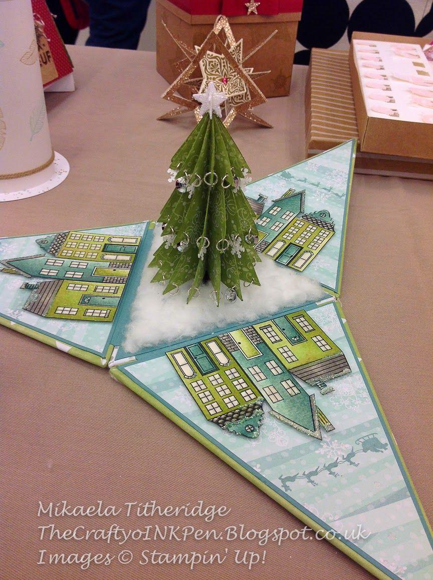 The Crafty oINK Pen Weihnachtskarten, Kartenideen