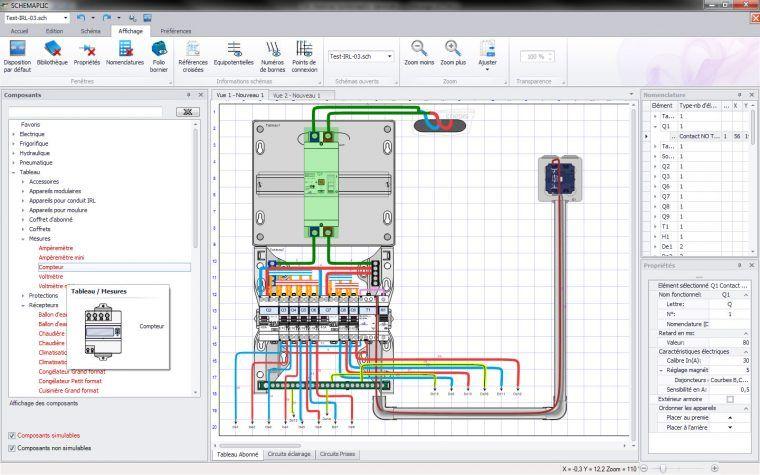 Logiciel Schemaplic 6 Pour Les Circuits Electriques Et Pneumatiques Electrotechnique Genie Electrique Circuit Electrique