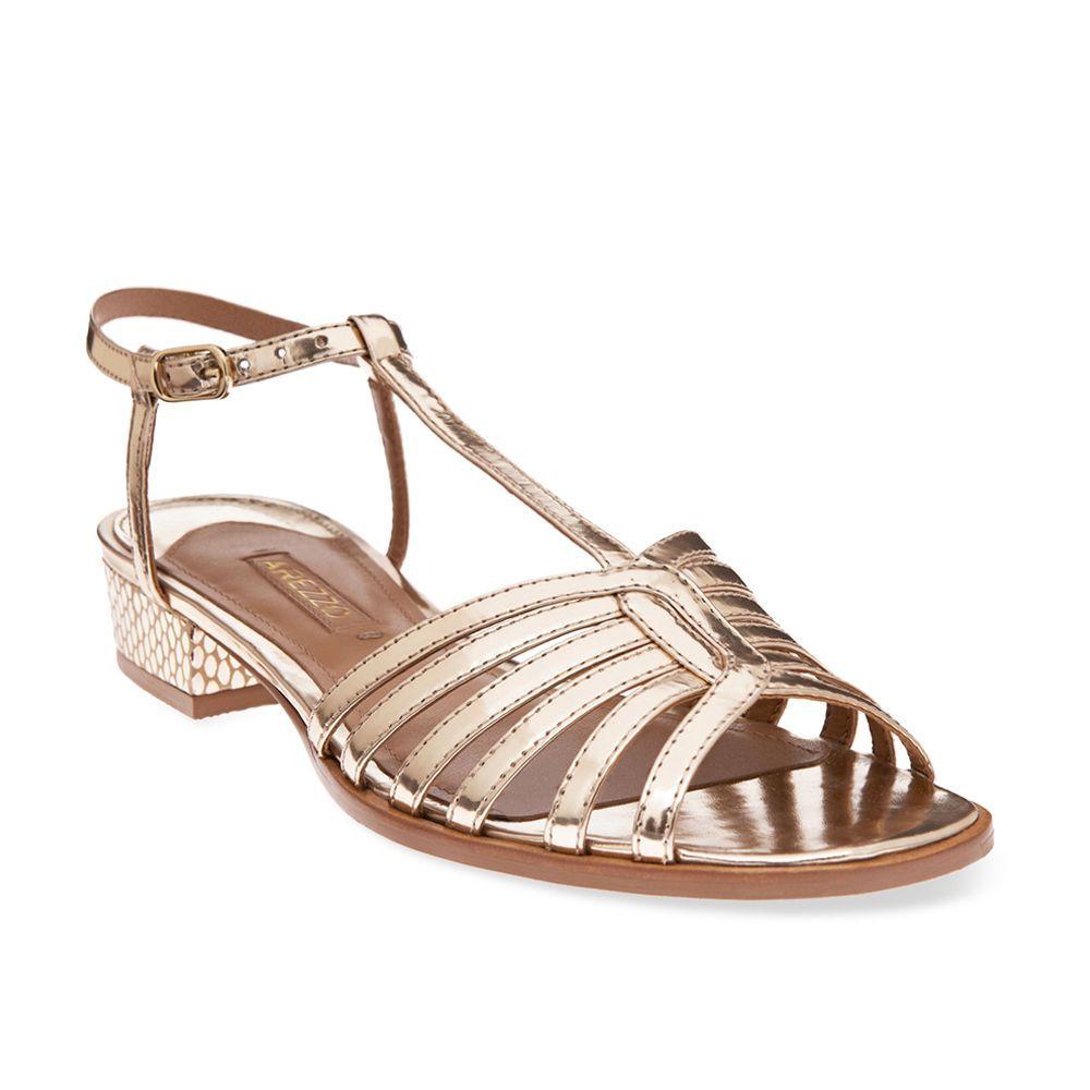 030adf164 Arezzo sandália rasteira | SAPATOS | Sapatos, Sandalia e Calças ...