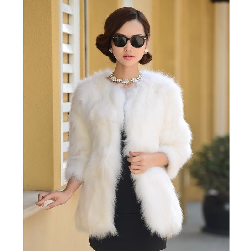 innovative design 27265 962d3 pelliccia di volpe bianca - Cerca con Google   服裝 ...