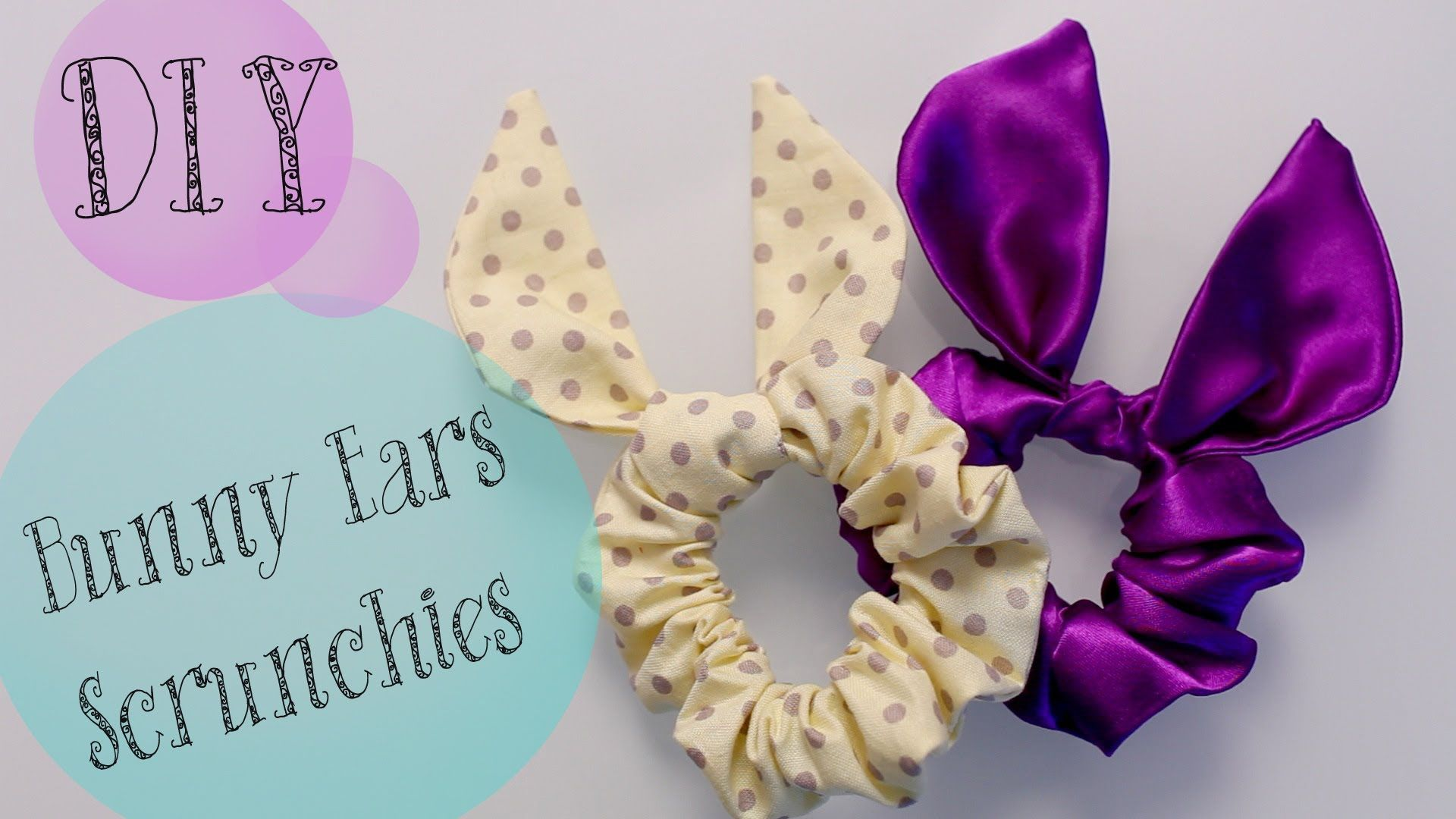 Diy topshop bunny ears scrunchie easter gift idea via youtube diy topshop bunny ears scrunchie easter gift idea via youtube negle Image collections