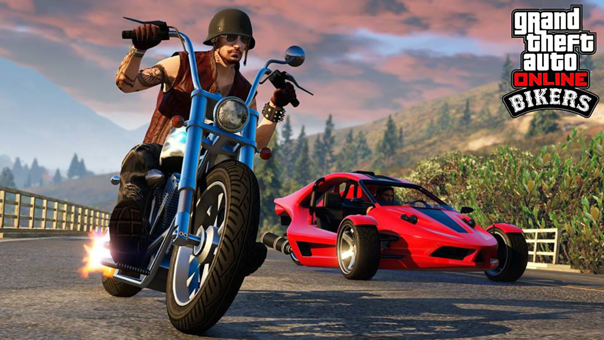 Western Daemon Bf Raptor Gta 5 Online Bikers Dlc 1920x1080 Wallpaper Grand Theft Auto Jeux Video Jeux