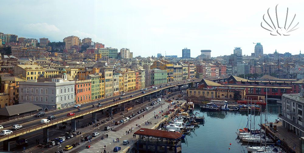 #Genova dal Galata Museo del Mare