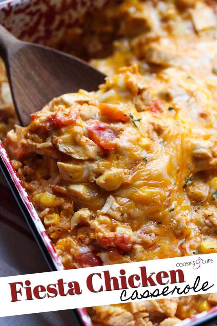 Fiesta Chicken Casserole images