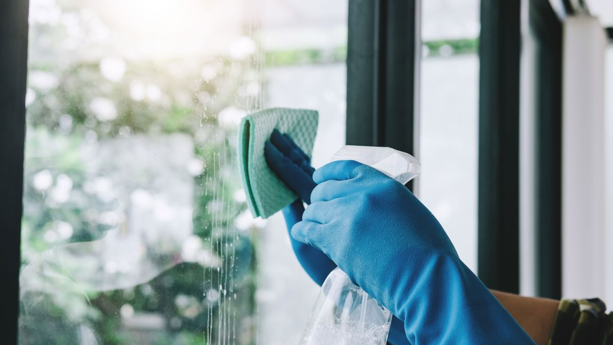 This is the secret to cleaning windows WITHOUT shopping