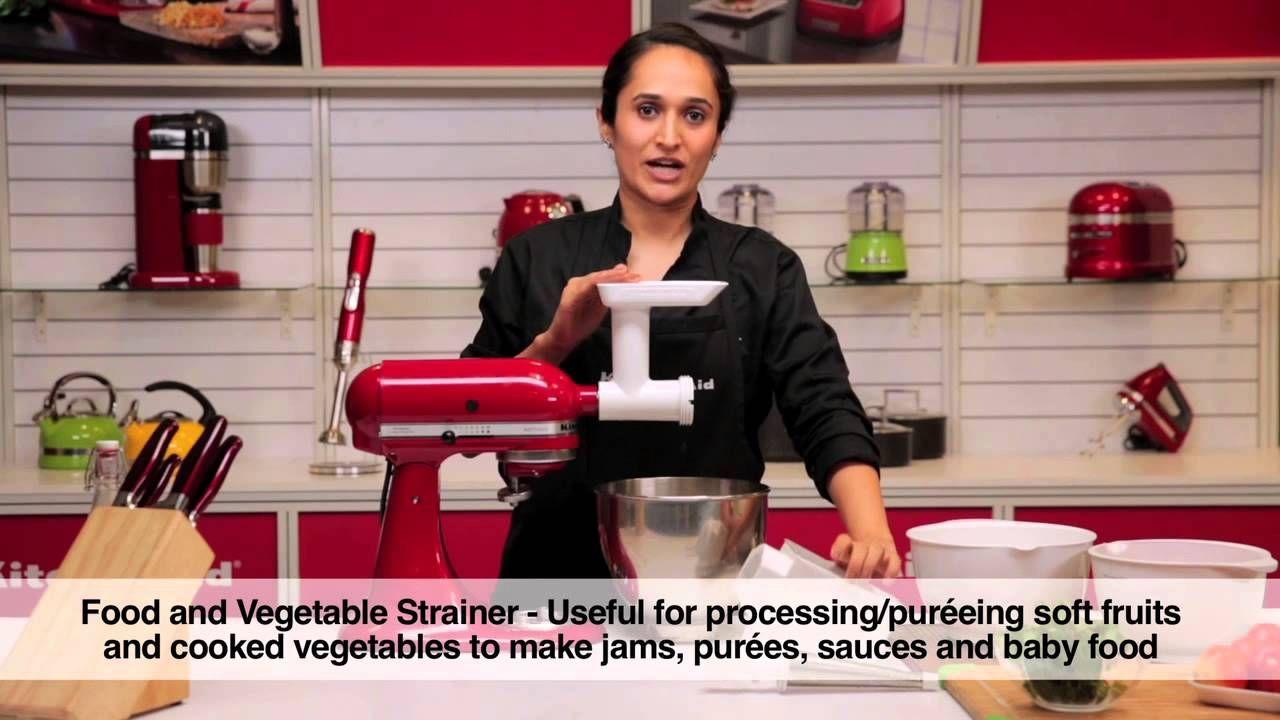 Food grinder fruit vegetable strainer sausage stuffer