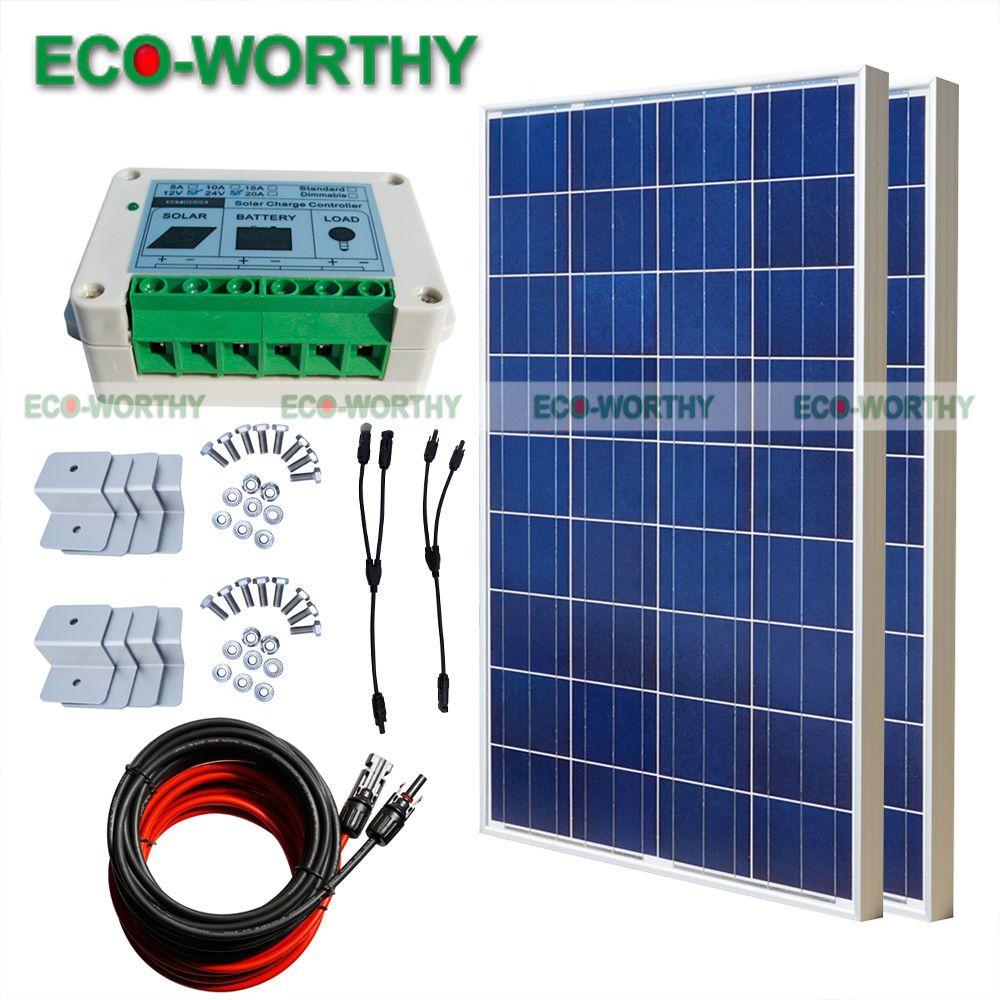 200w home solar system off grid kit 2100w 12v solar