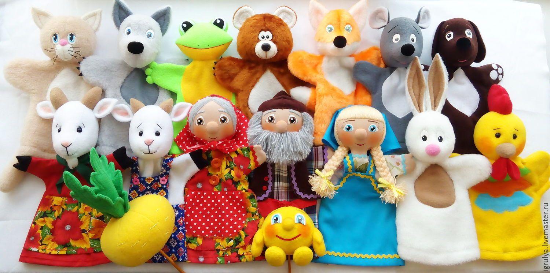 Игрушки перчатки для кукольного театра своими руками фото 512
