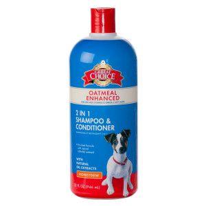 Grreat Choice Oatmeal 2 In 1 Dog Shampoo Conditioner Dog Shampoo Shampoo And Conditioner Flea Shampoo