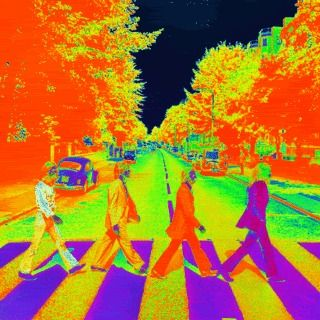 abbey road psychedelic