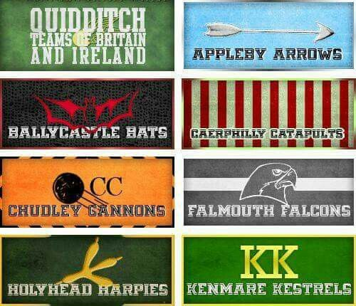 Quidditch Teams Hogwarts Trunk Quidditch Harry Potter Collection