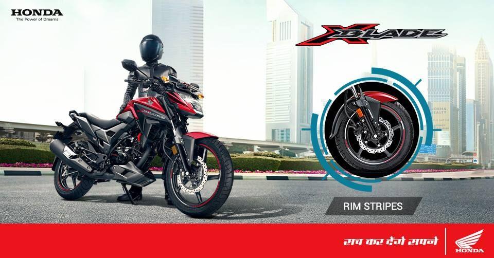 Honda X Blade 160 Cc Motorcycle Unveiled Auto Expo 2018 Live