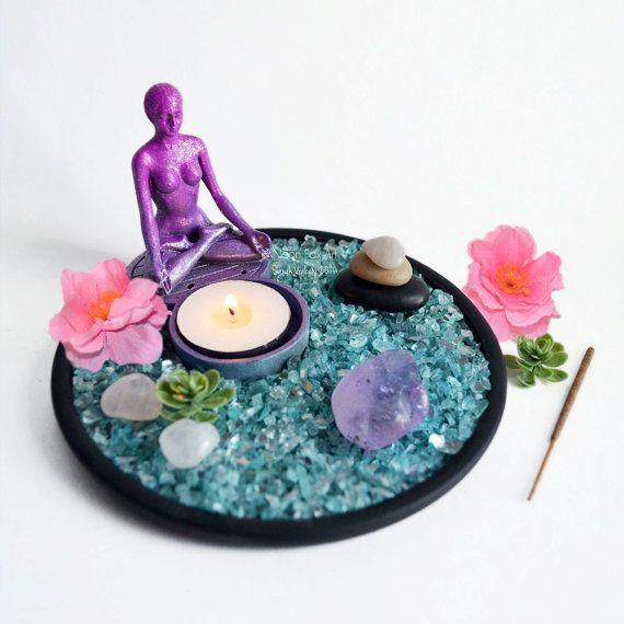 Cuero Etiqueta Acento - Meditación Garden De Vida Vida dnPd9w