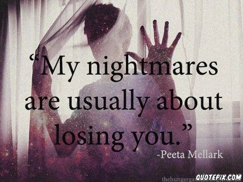 Nightmares-- Peeta Mellark