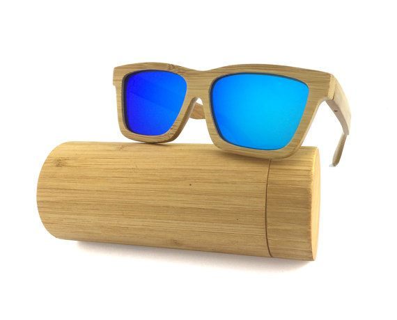 cad8c1012f Carbonized Bamboo Sunglasses Polarized REVO Women Wooden Frame with Wood  Box 00313