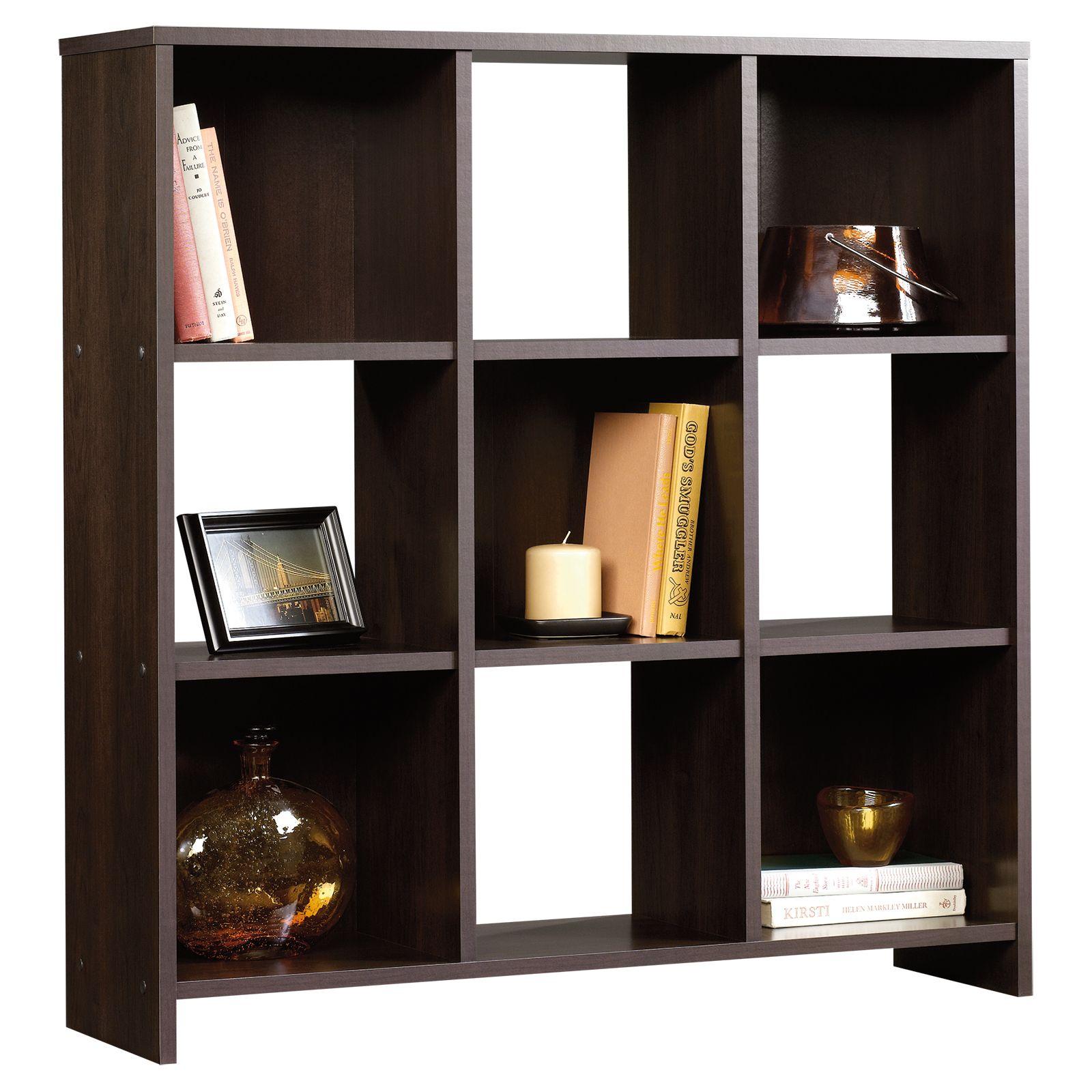 bookcase cinnamon cherry beginnings spon - Sauder Bookshelves