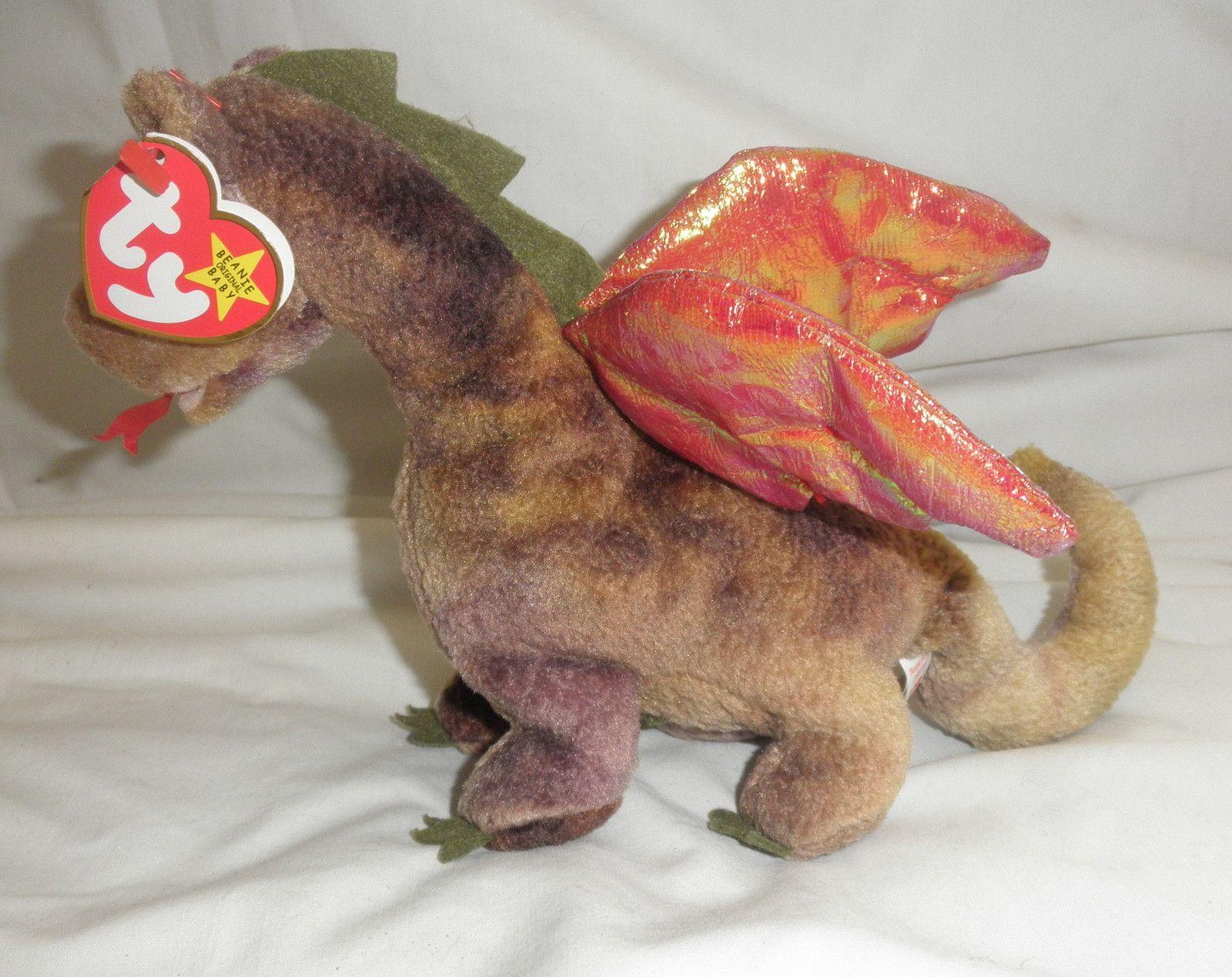 e632db82f42 Original TY Beanie Babies Scorch the Dragon W  Tags - Retired