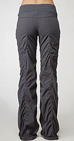 69e1c8a42f I finally broke down and bought the Lululemon Dance Studio Pant II in coal  after trying them on a few times in stores. I really like the l.