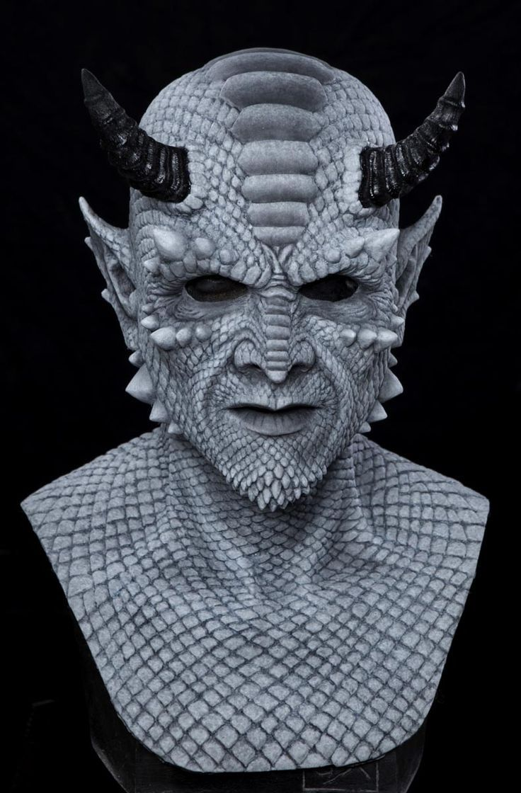 Image result for demonic gargoyle Halloween masks