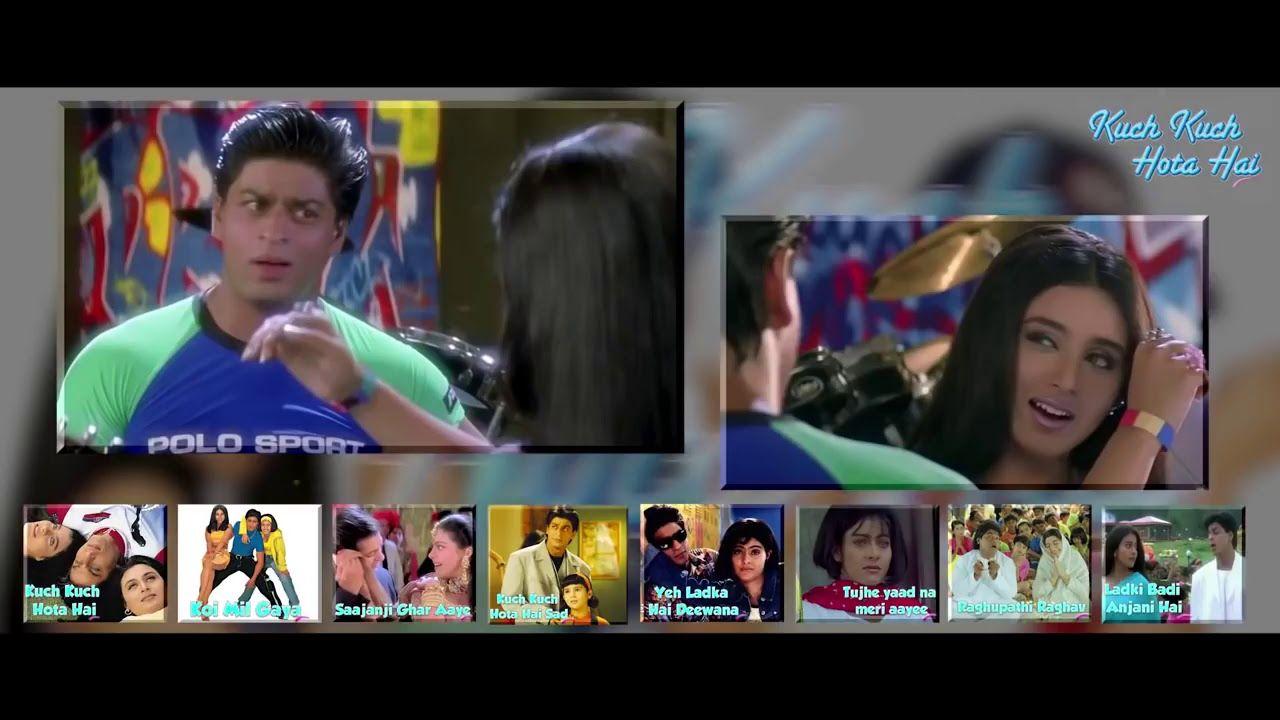 A Love Triangle Movie Scene Kuch Kuch Hota Hai Shahrukh Khan Kajol Rani Mukerji Kuch Kuch Hota Hai Movie Scenes Shahrukh Khan