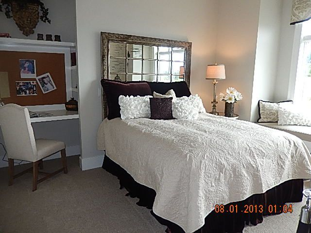 Beautiful Mirror Headboard Bedroom Closet Ideas Closet Behind