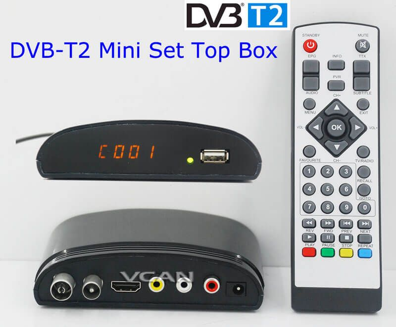dvb t2 mini digital tv receiver set top box home hdtv hdmi usb home dvb t2 pinterest. Black Bedroom Furniture Sets. Home Design Ideas