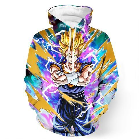 Anime Dragon Ball Z DBZ Son Goku Men Women Hoodie Sweatshirt Pullover Jacket Top
