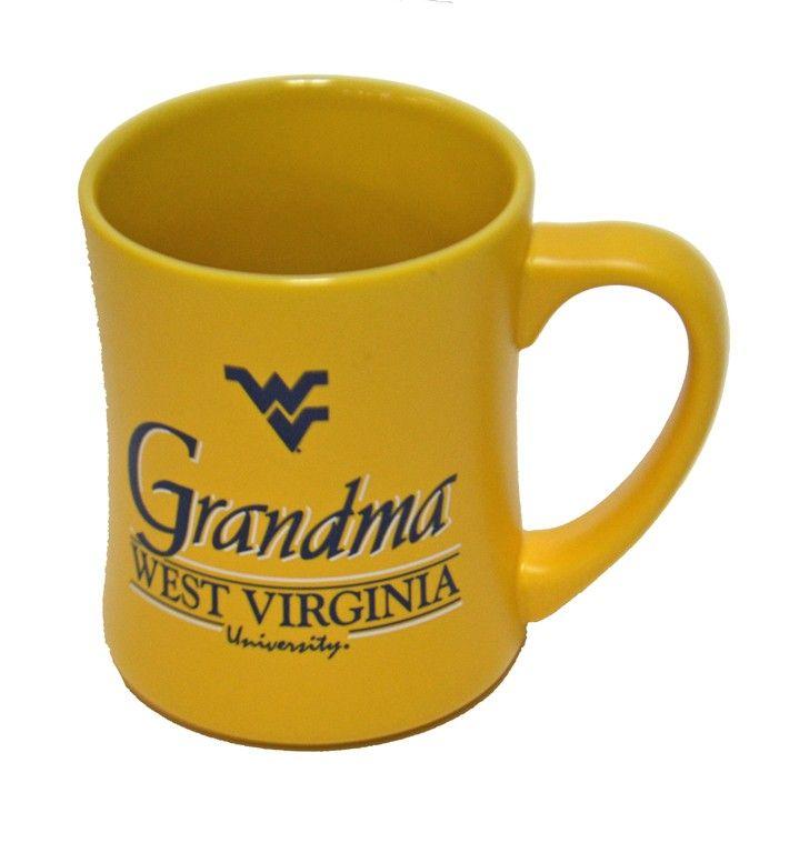 Wvu Grandma Matte Mug Mugs Gifts For Your Mom Holiday Gift List