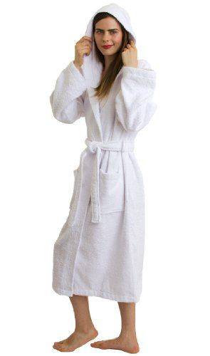 bb8ae29516 TowelSelections Hooded Bathrobe - 100% Turkish Cotton