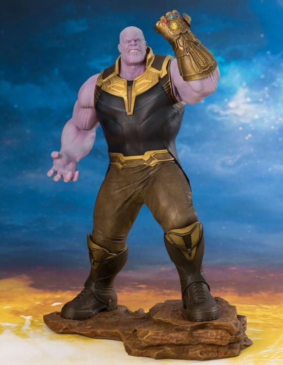 Картинки по запросу Marvel ArtFX+ Statues - Avengers 3 Infinity War Movie - 1/10 Scale Thanos