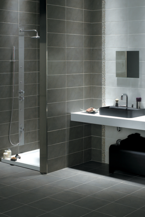 Pin by julien hermann on salle de bain salle de bain carrelage salle de bain carrelage mural - Carelage salle de bain ...