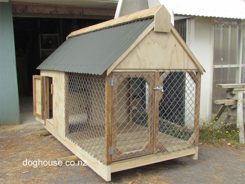 Dog House | Outdoor Dog & Puppy Houses, Kennels and Runs ...