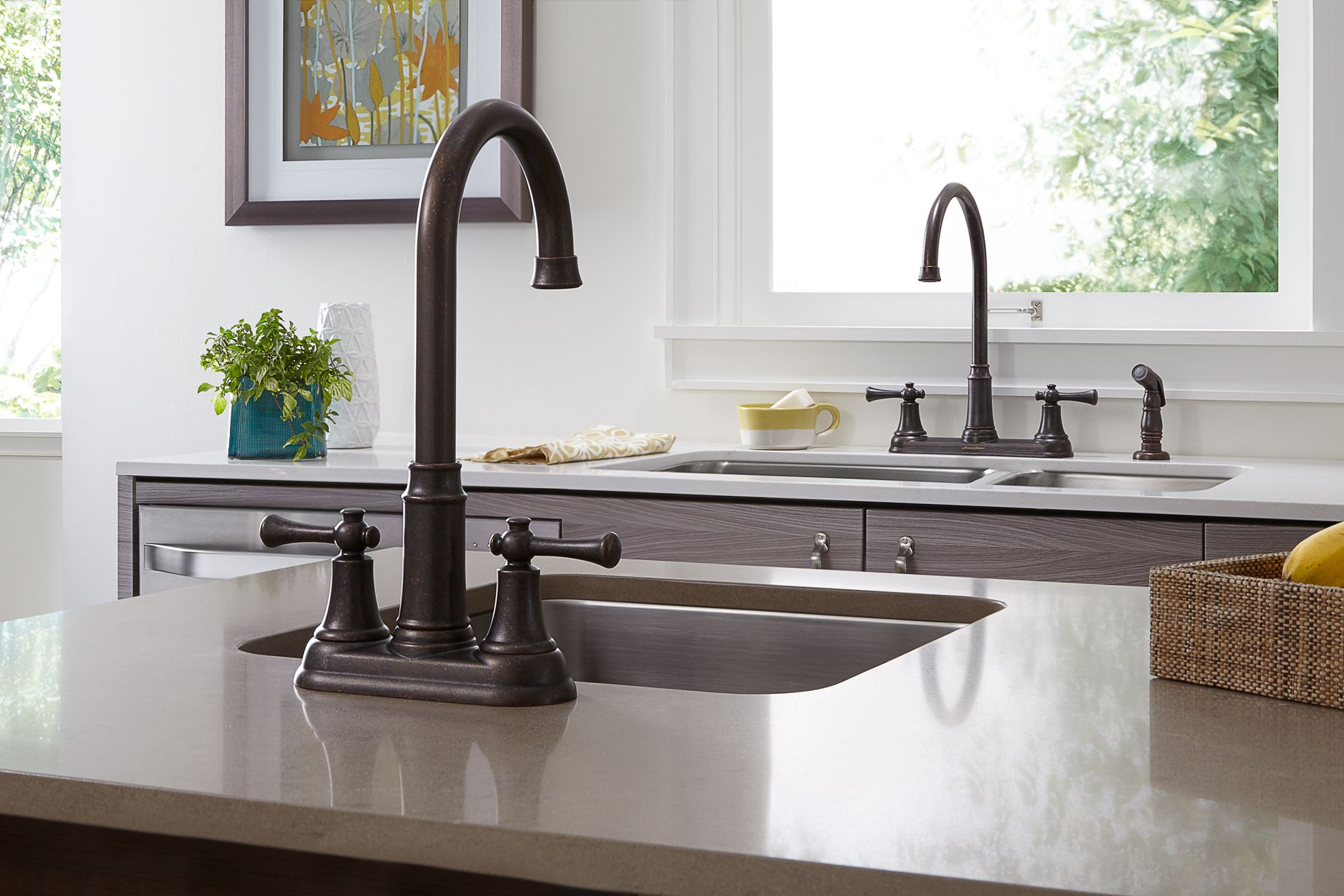 Would Two Kitchen Sinks Make Your Life Easier Kitchen Sink
