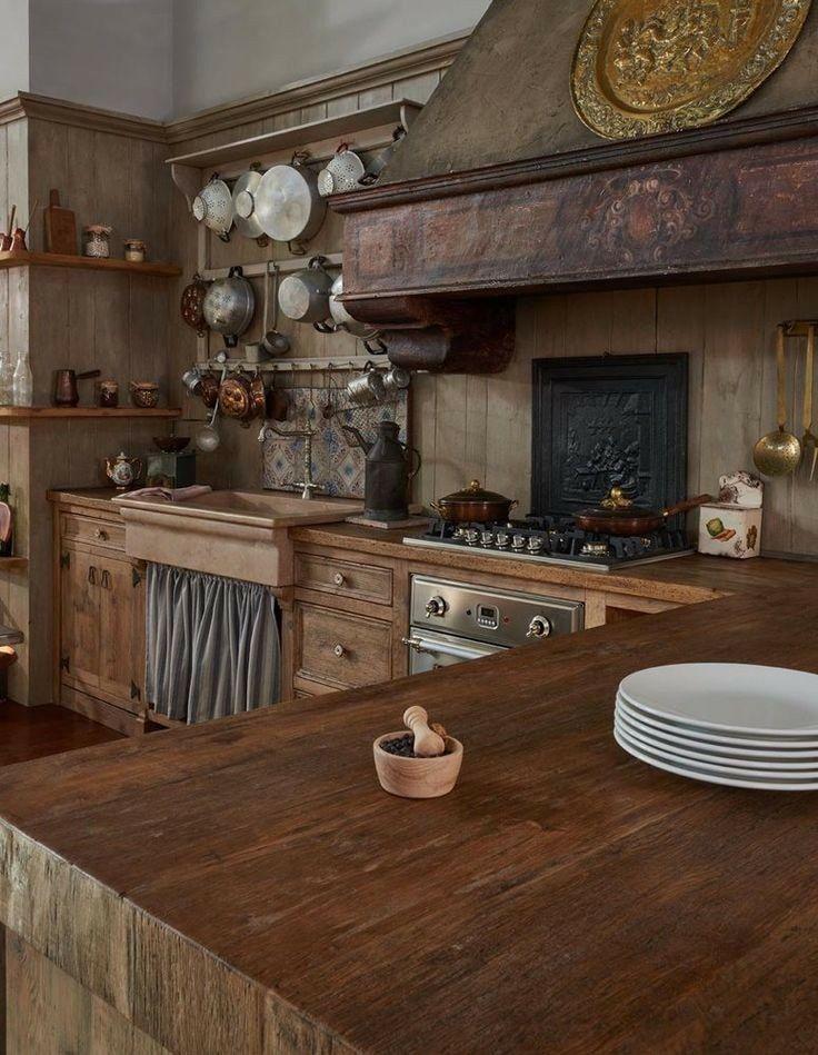 Pareti rustiche trendy pareti cucina ocra with pareti - Pitture per cucine rustiche ...