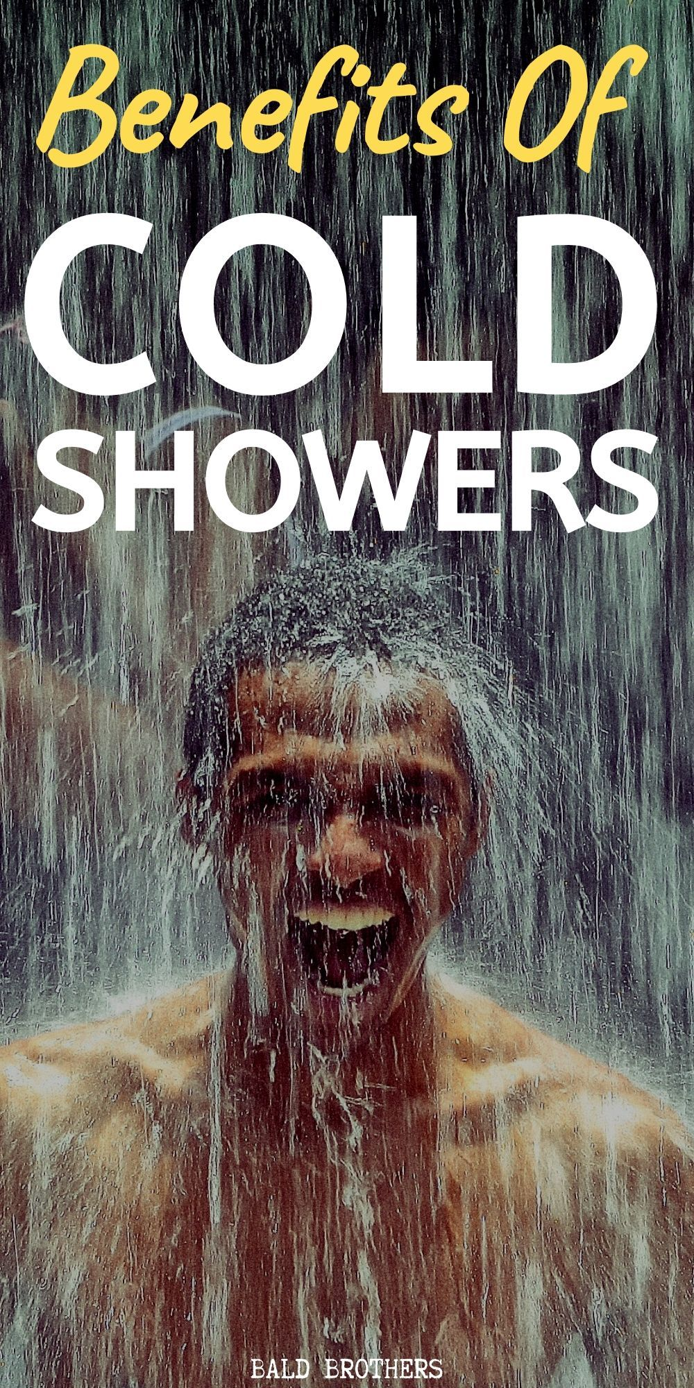 Cold shower benefits why all men should do daily cold