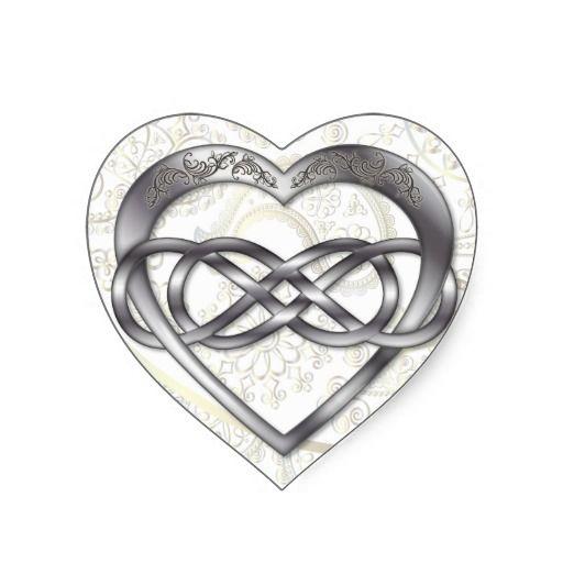 Double Infinity Heart Valentine Heart Sticker - 1 #doubleinfinity