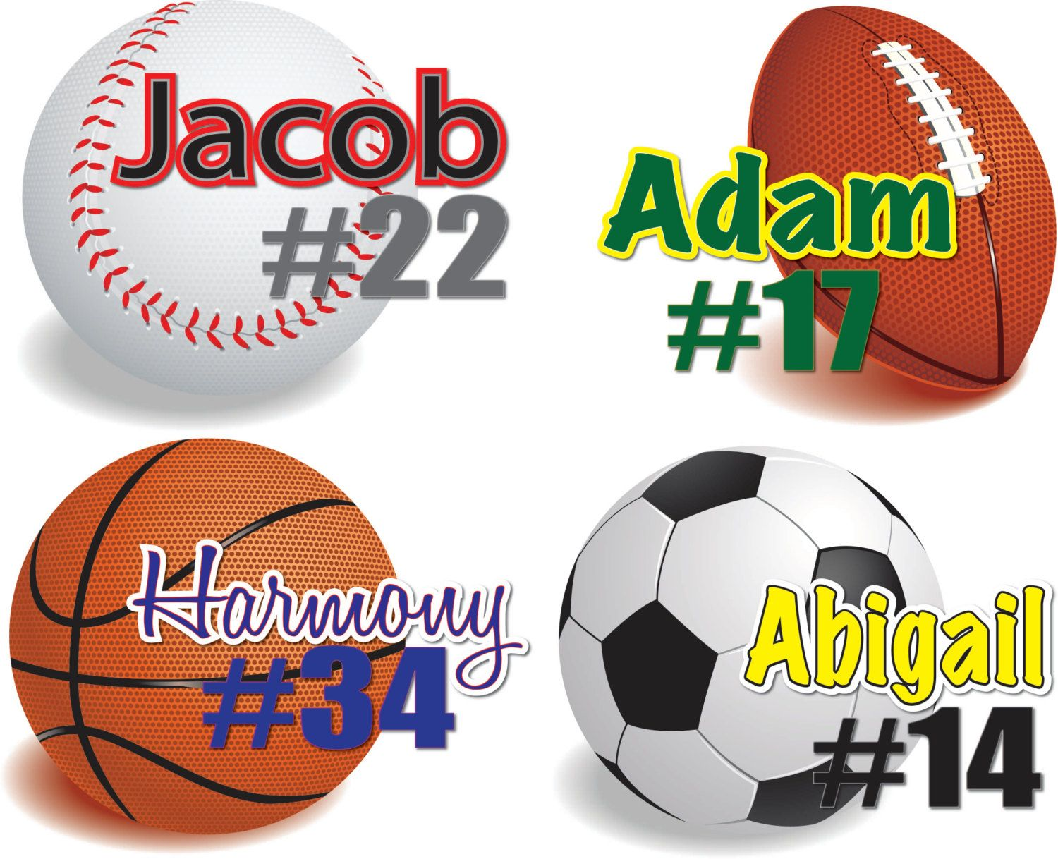 Sports Wall Decals Personalized Sports Decal Vinyl Wall Stickers - Vinyl vinyl wall decals baseball