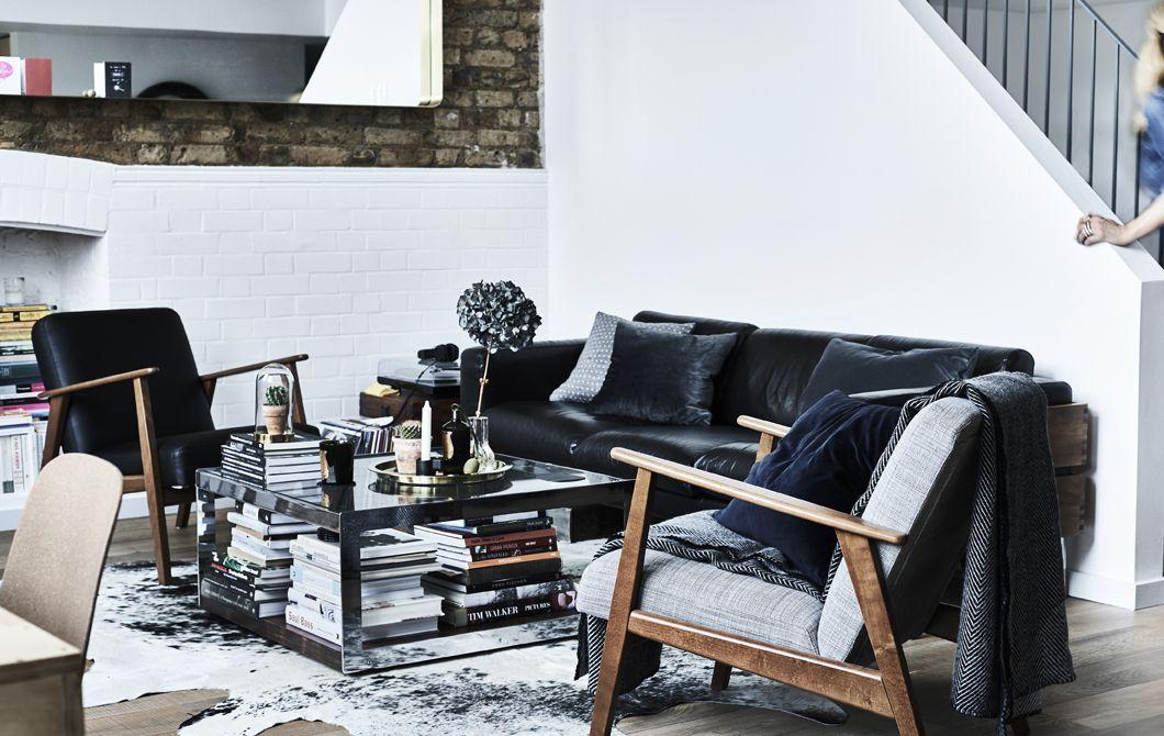 Soggiorno monocolore con due poltrone IKEA | soggiorno | Pinterest ...