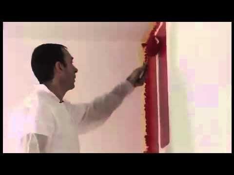 Comment peindre un mur et éviter les traces de reprises brico,diy - Comment Peindre Du Papier Peint