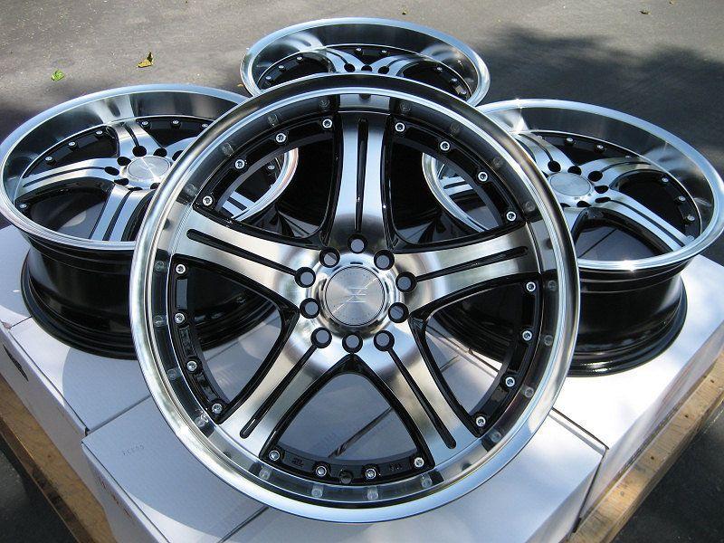 17 Effect Wheels Rims 5x110 Cobalt Hhr Malibu Saab 93 95 Saturn Astra Aura Ion Wheel Rims Black Wheels 17 Wheels