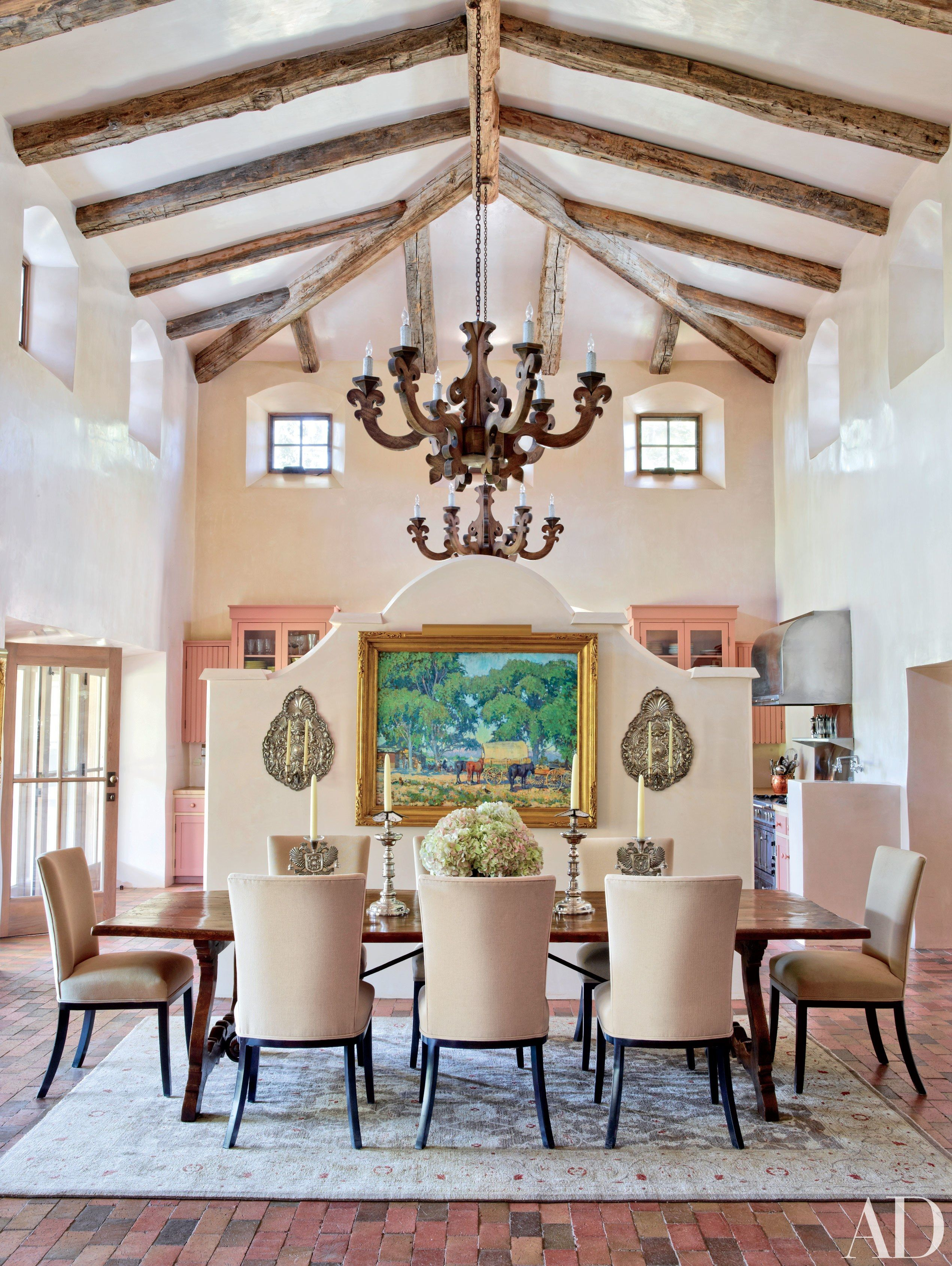 Step Inside 47 Celebrity Dining Rooms Dining Room Design Room