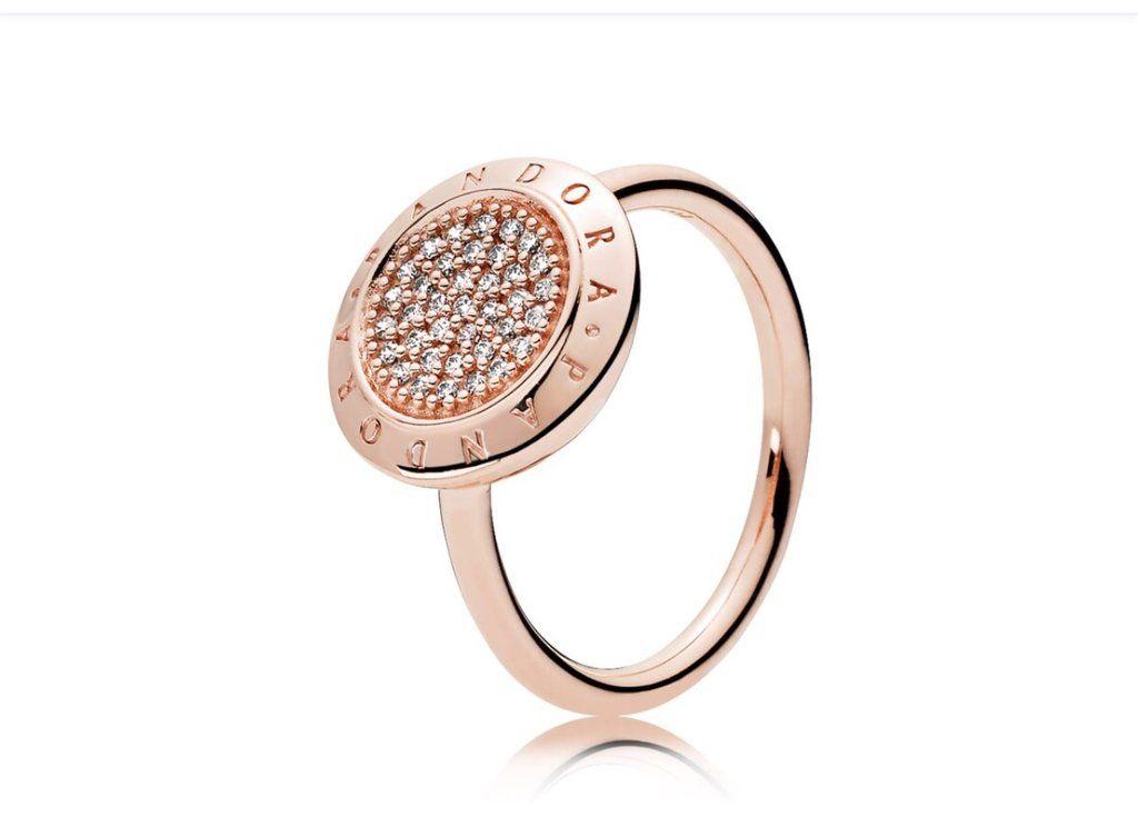 anillo lazo pandora rose