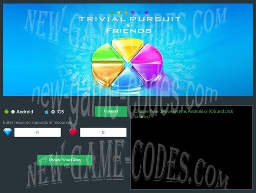 Trivial Pursuit And Friends Hack Cheats - mablefurlone
