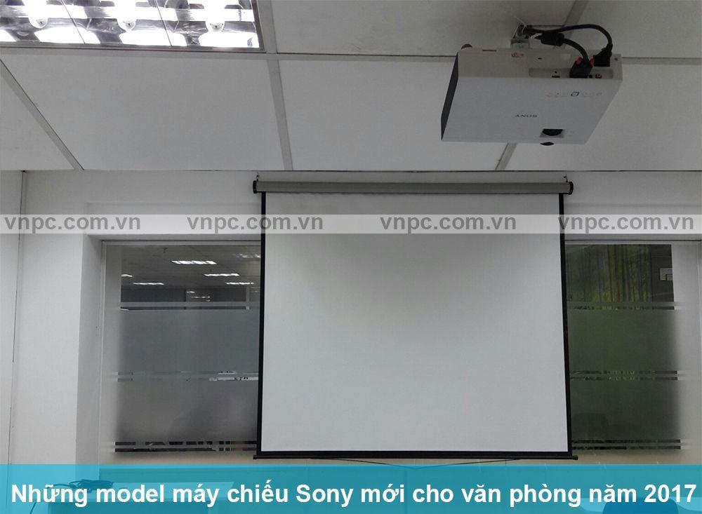 Những model máy chiếu Sony mới cho văn phòng năm 2017. Các model máy chiếu Sony giá dưới 20 triệu mới ra mắt sử dụng công nghệ 3LCD Nhật Bản bán chạy.