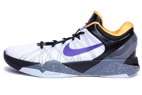 6bab60e3e07a Nike Mens Zoom Kobe Vii System White Black Purple 488371-103 Nike.  140.00