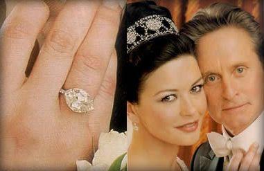 Catherine Zeta Jones 1920 S Inspired Engagement Ring 10 Carat Antique Marquise Worth 2 Million