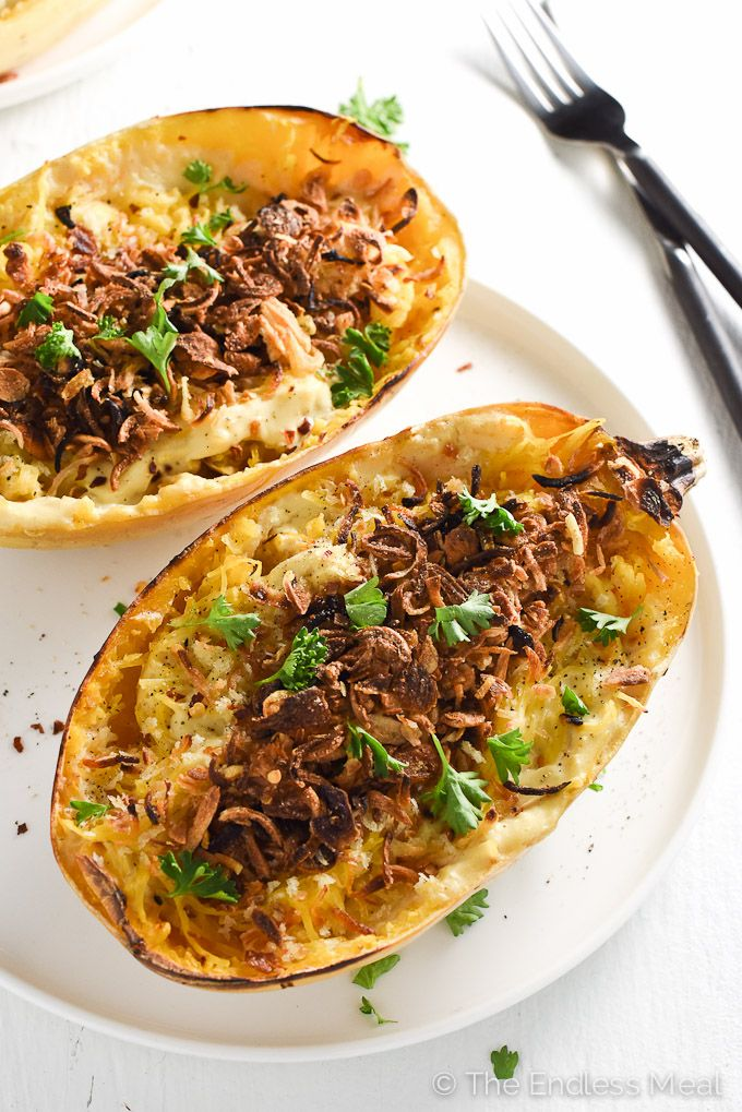 Spaghetti Squash Vegan Recipes