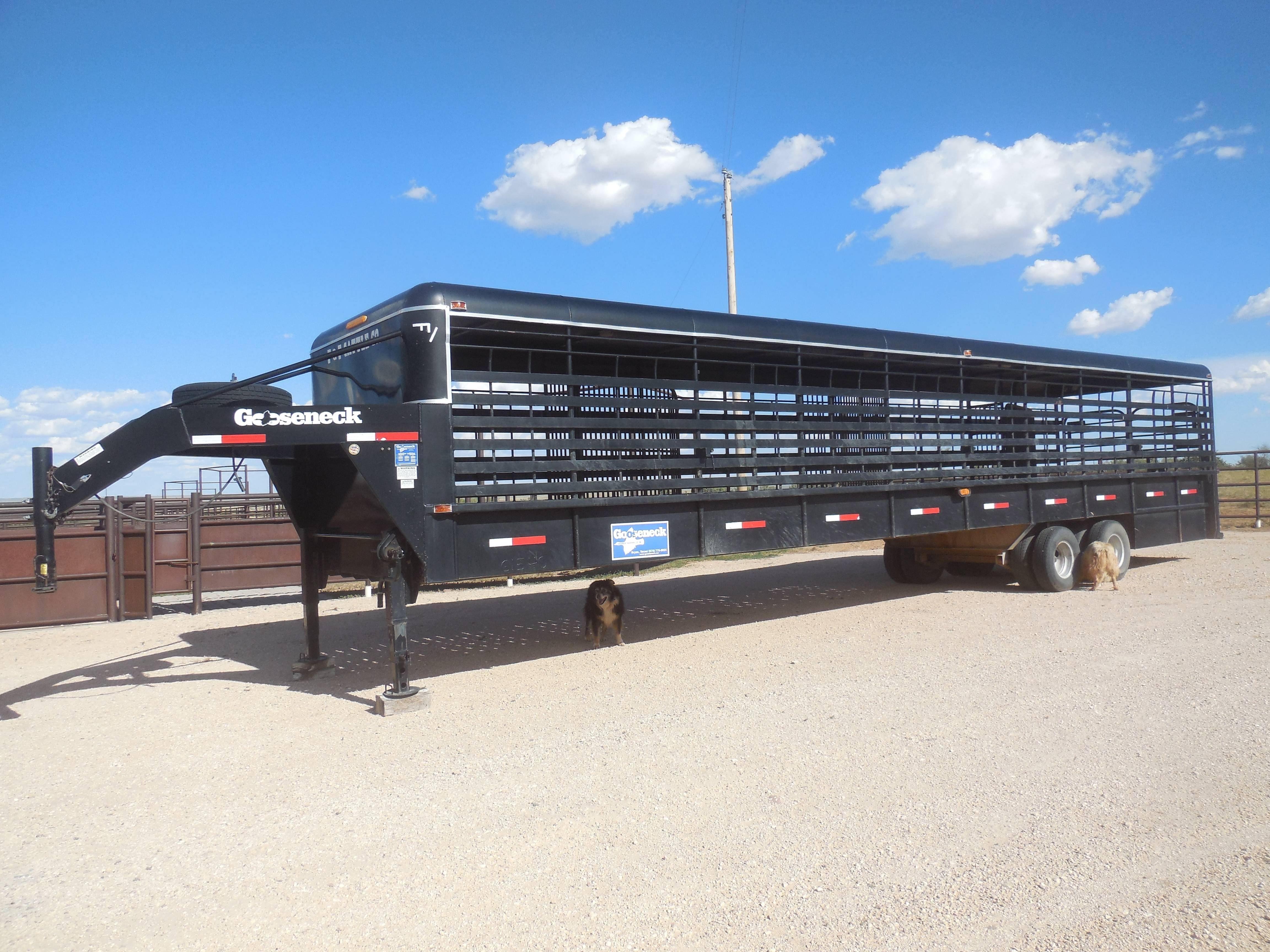 40 Gooseneck Trailer For Sale For More Information Click On The